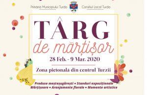 Primăria Turda organizează Târgul Mărțișorului – ediția a IV-a!