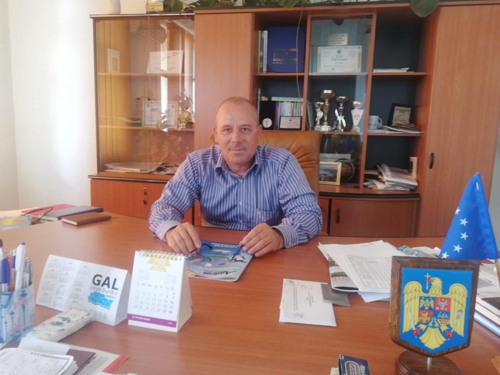 Adrian Glăvan, primarul oraşului Bechet