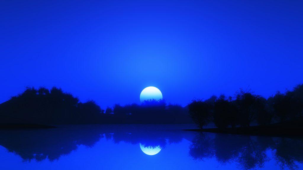 Luna este un motiv literar întâlnit în creația eminesciană